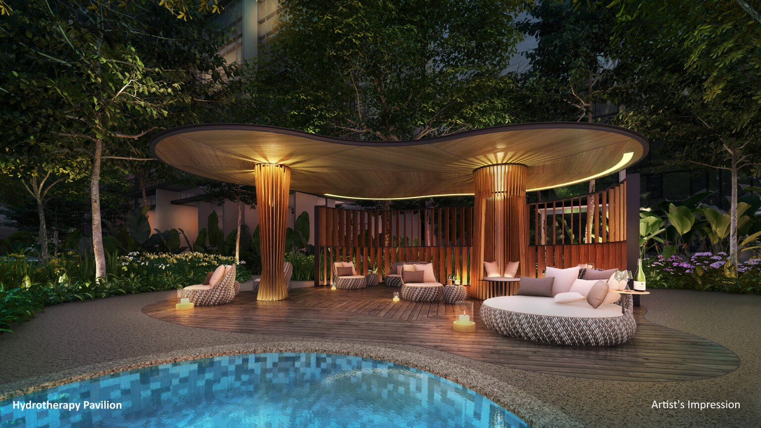 the florence residences hydrotheraphy pavilion
